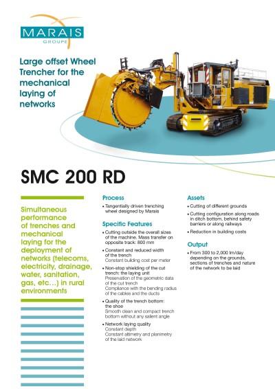 SMC 200RD-rovokopac