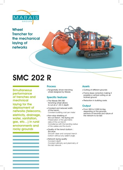 SMC 202R-rovokopac