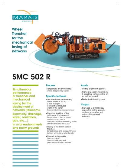 SMC 502R-rovokopac